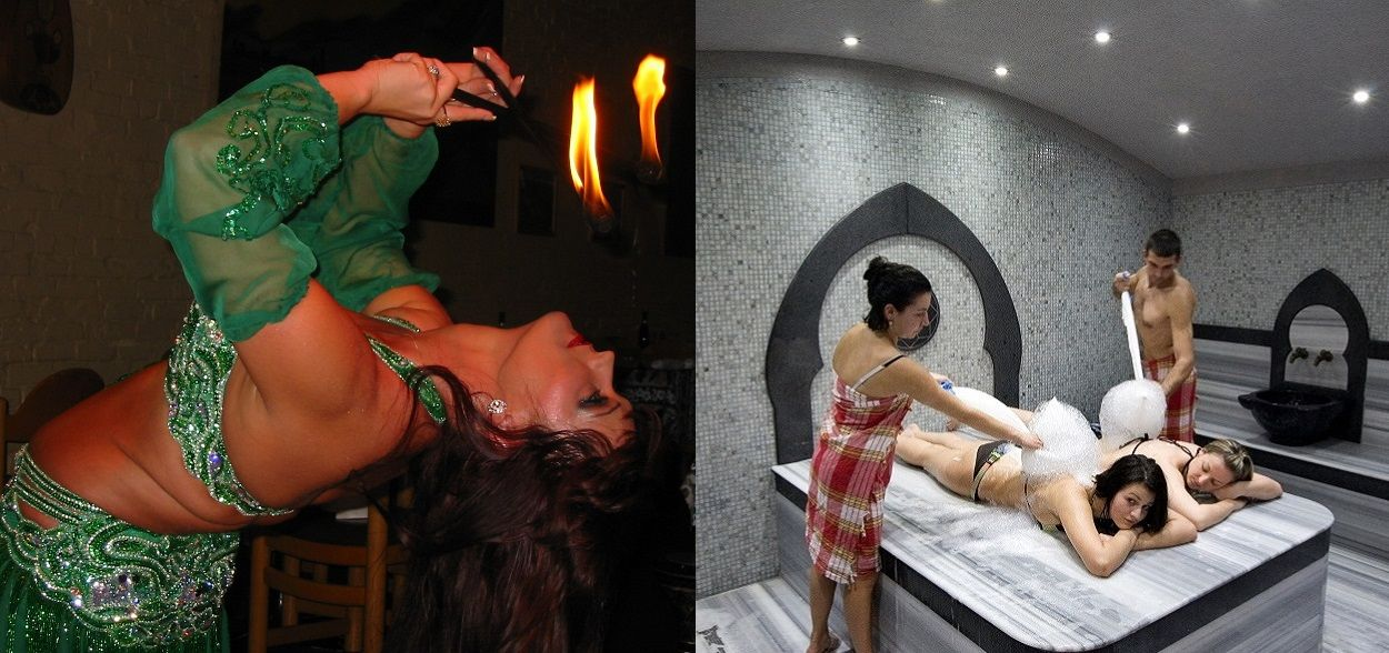 Top Marmaris Show and Spa Tours