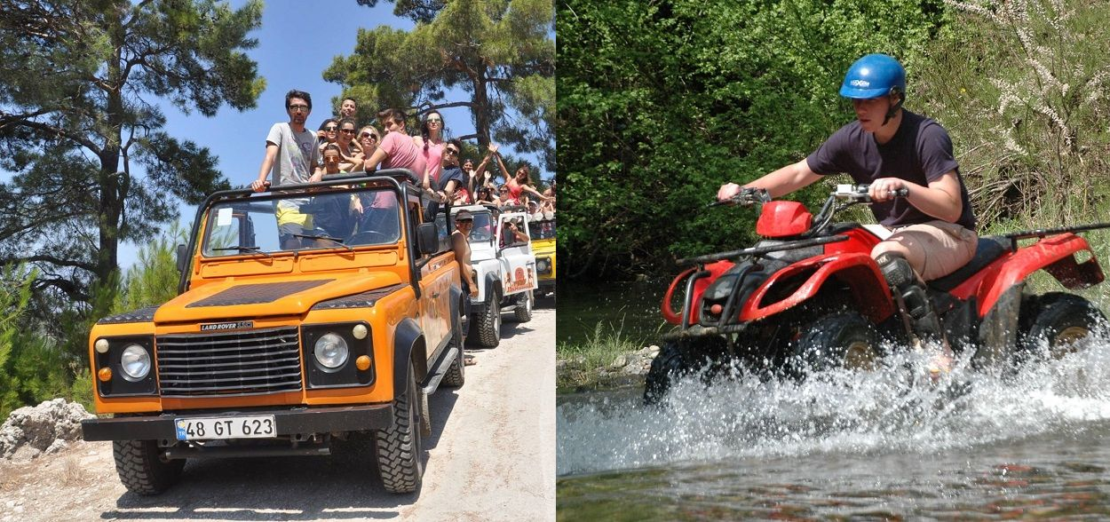 Top Marmaris Extreme & Outdoor Activities