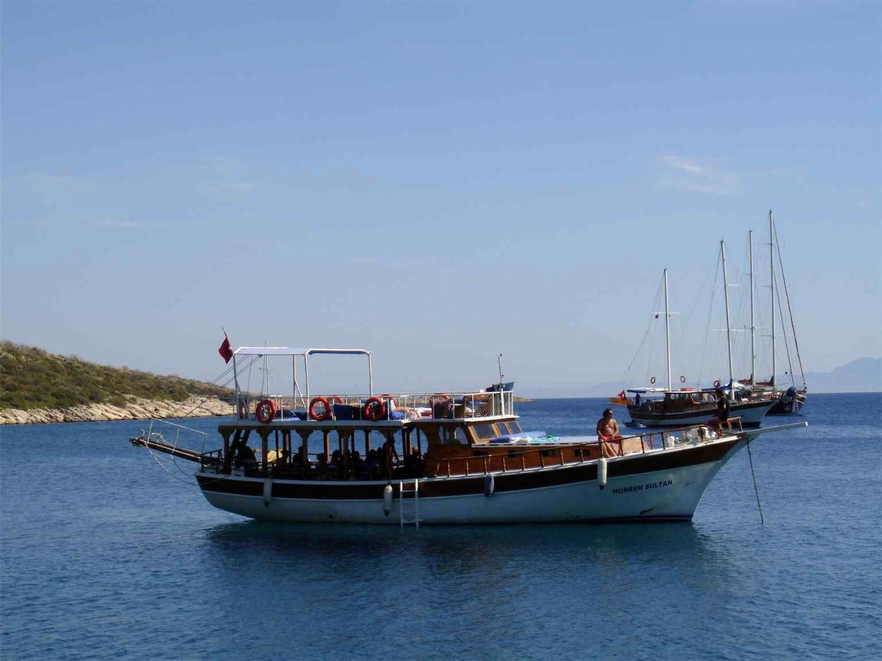 Daily Boat Trip Bodrum Peninsula All Inclusive