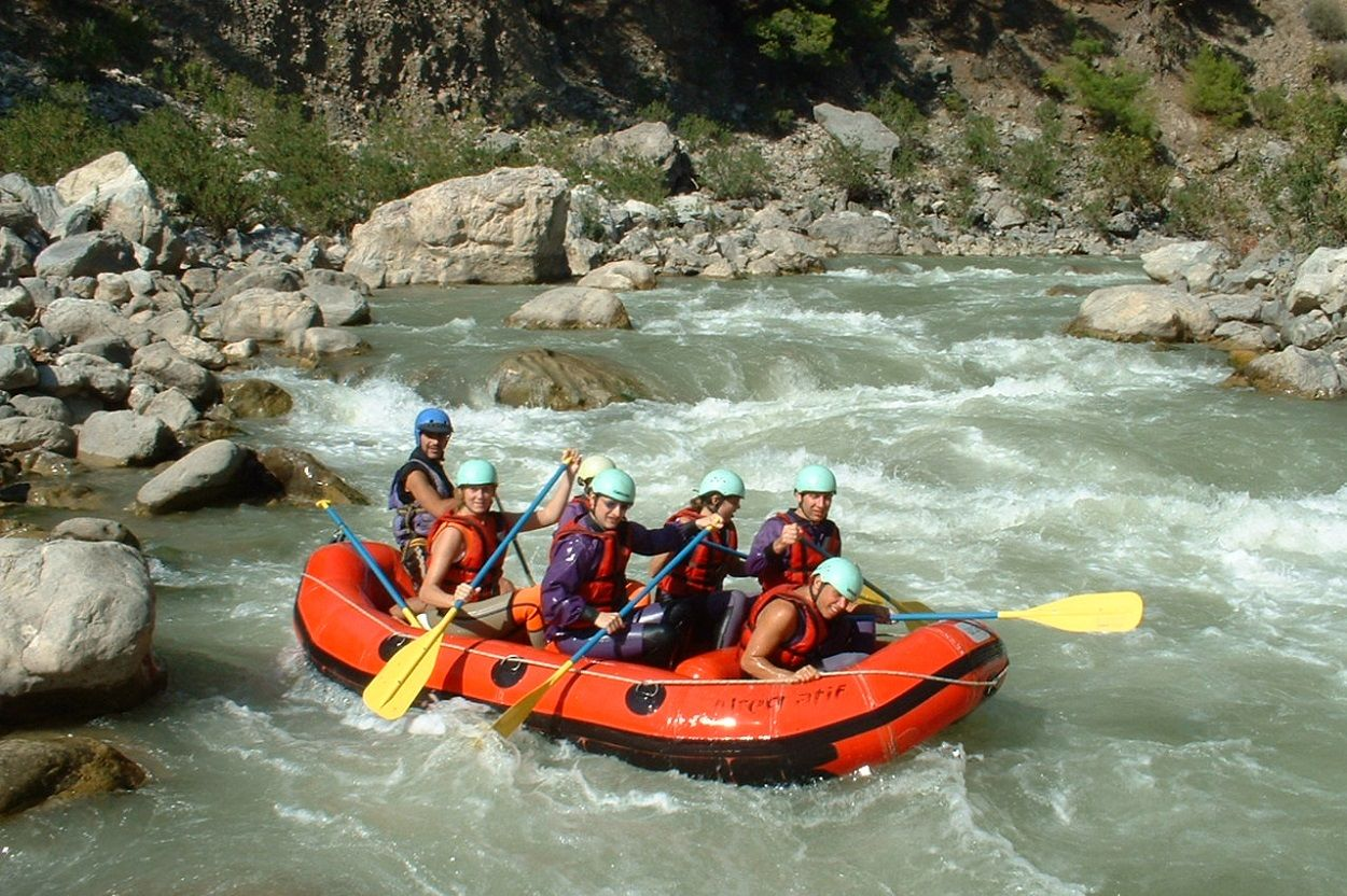 Dalaman River Rafting from Bodrum Peninsula