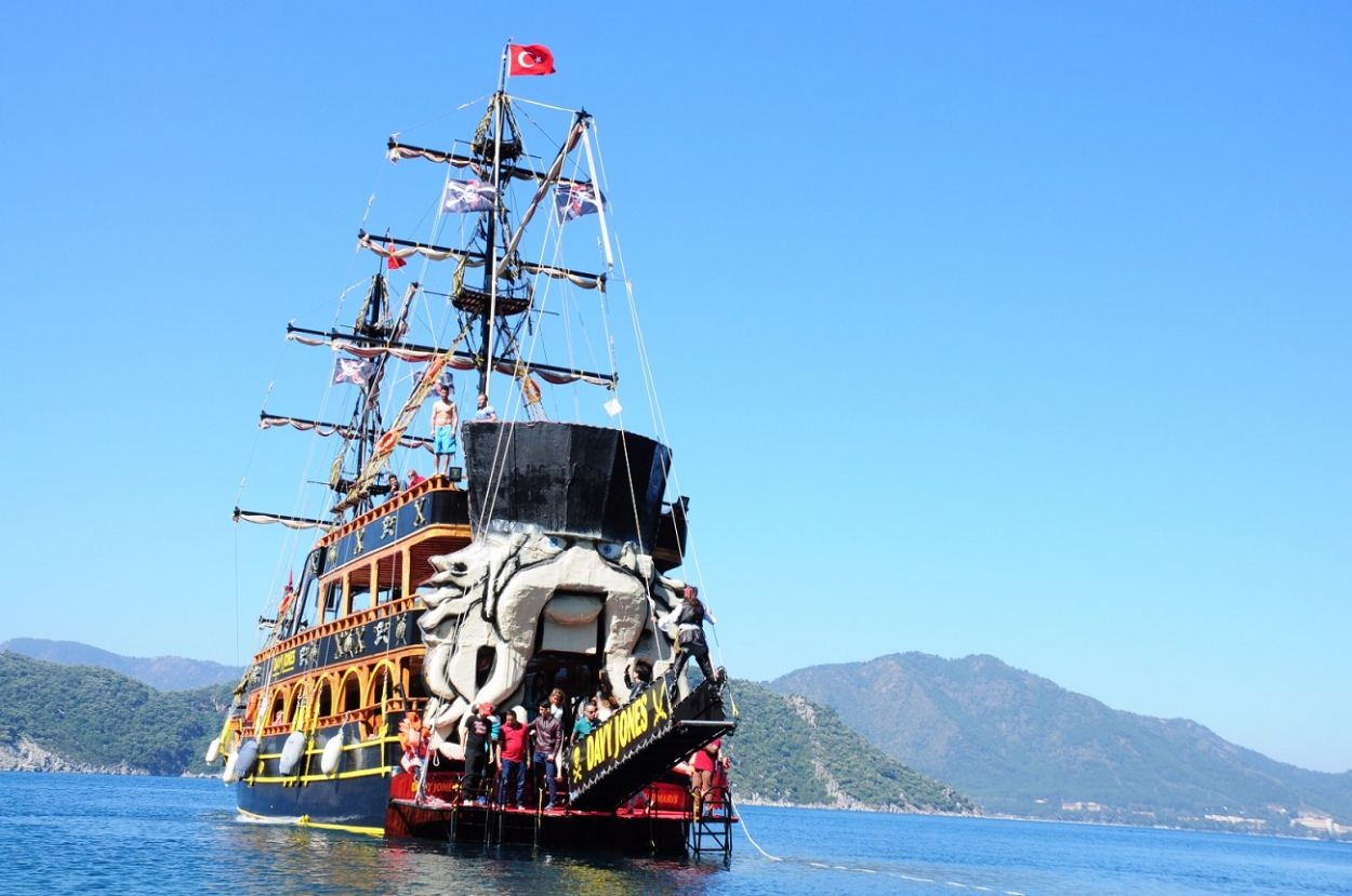 Davy Jones Marmaris Pirate Cruise Party Boat Trip