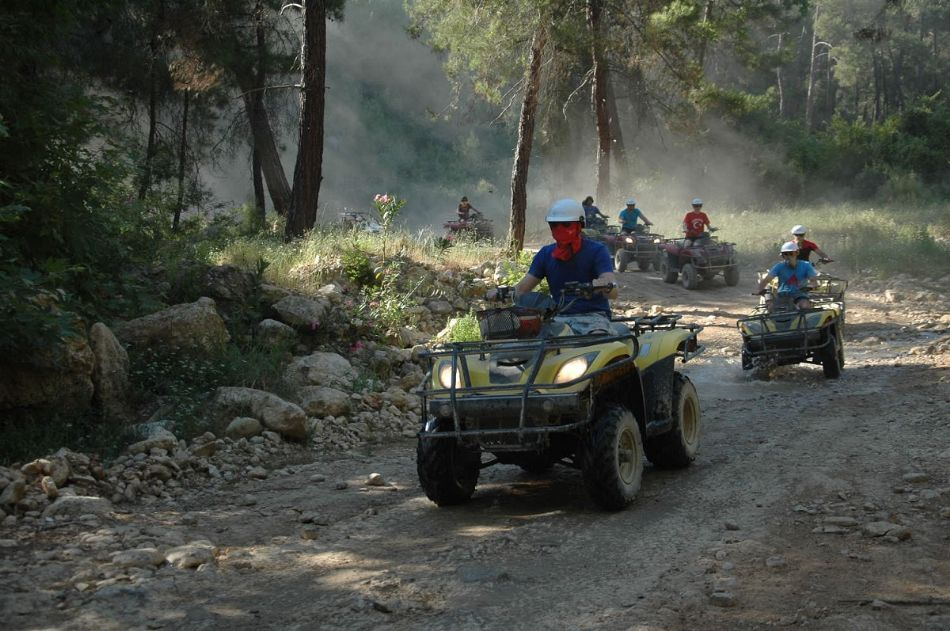 ATV Adventure Quad Safari from Alanya (2 people)