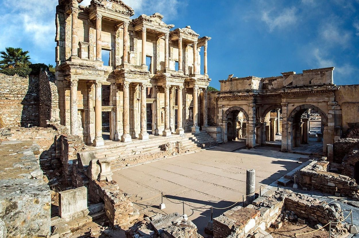 Ephesus and House of Mary from Kusadasi