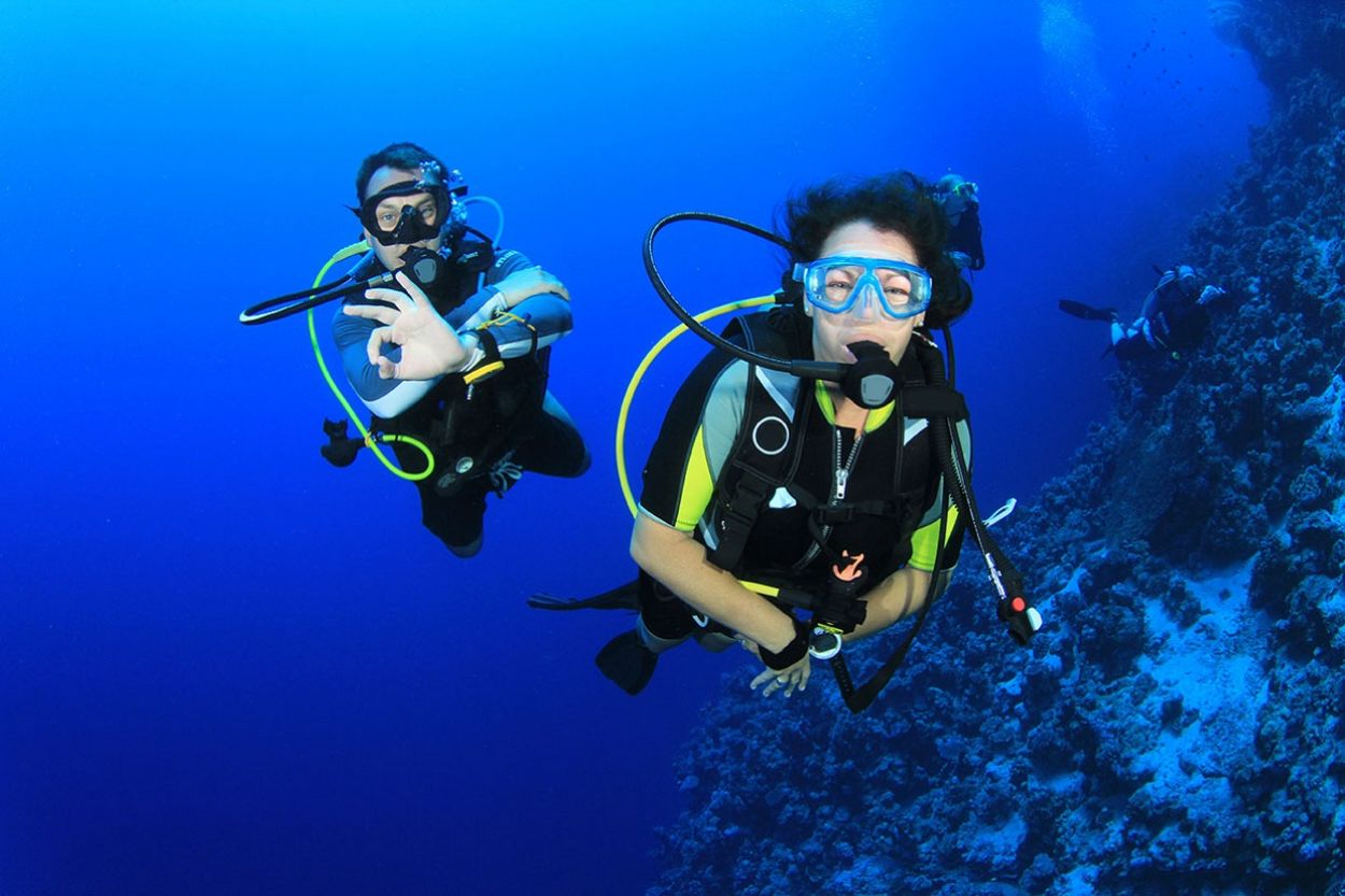 Scuba Diving Experience in Marmaris Bays