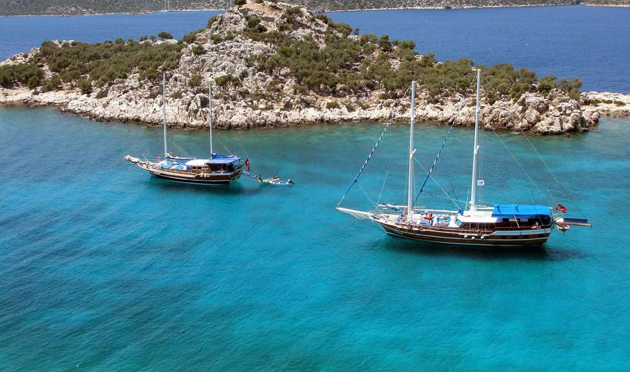 Boat Trip with Lunch from Kalkan